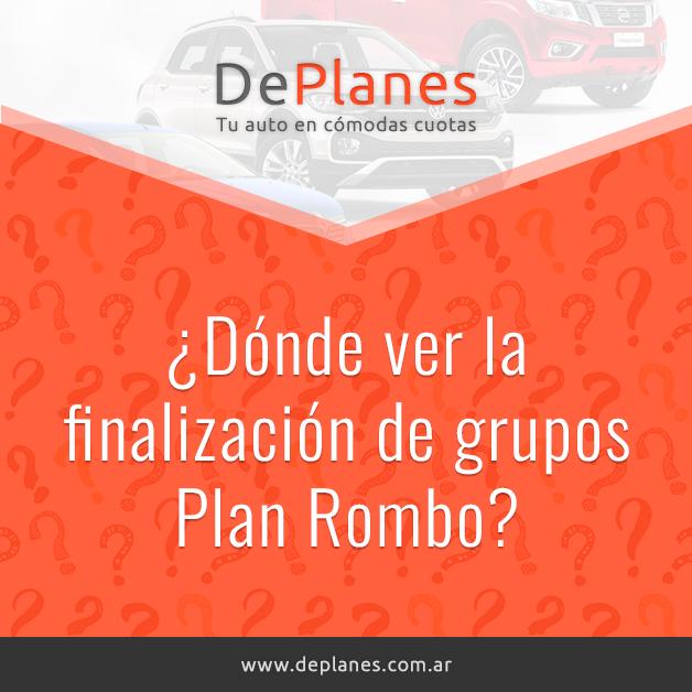 ¿Dónde ver la finalización de grupos Plan Rombo?