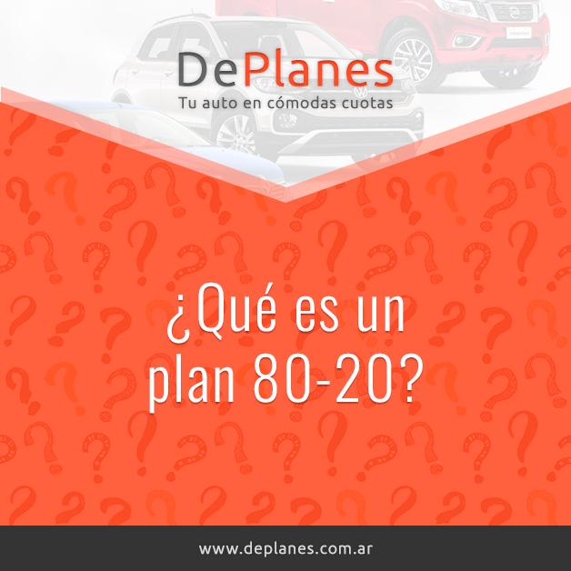 ¿Qué es un plan 80-20?